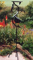 birdtable sculpture by Iron Vein designer makers